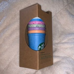Starbucks limited edition reusable hot cups!